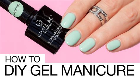how to do gel nails at home without uv light how to do gel nails at home like a pro