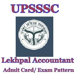 lekhpal exam pattern in up up lekhpal syllabus exam pattern upsssc accountant admit