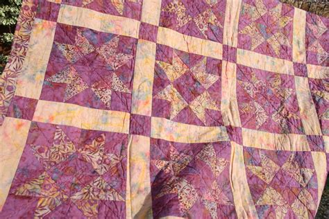 Clearance Quilt by Clearance Sale Patchwork Quilt Vintage Handmade By