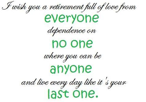 Retirement Messages For Coworkers by Wishes For Co Worker Retirement Quotes Quotesgram