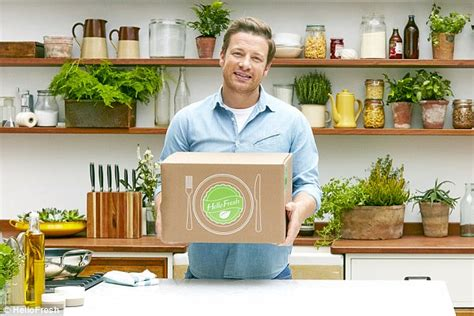 jamie at home kitchen design jamie oliver s hellofresh food box is put to the test with