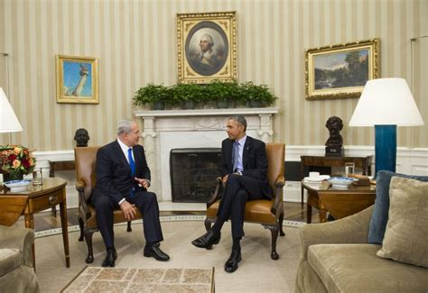 obamas oval office obama netanyahu meet for first time in over a year here