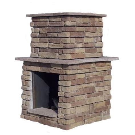 home depot fireplace paint kit 60 in random brown outdoor fireplace rbwfpl the