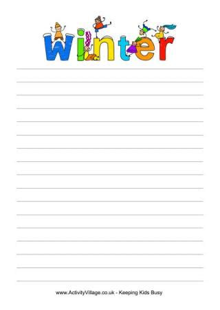 printable lined paper with room for picture writing paper template with picture printable writing
