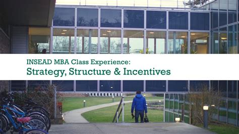 Mba Strategy Insead by Strategy Structure Incentives With Prof