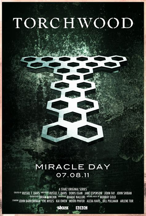 Miracle Day Torchwood Miracle Day Poster Design Metatroniks