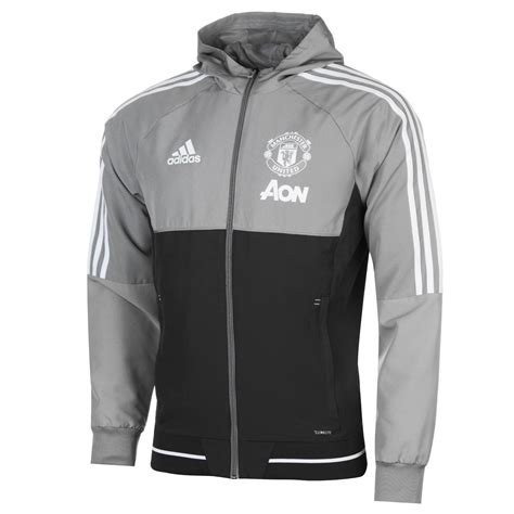 Jaket Sweater Adidas Foot Gradasi 3 adidas mens manchester united pre match jacket tracksuit top coat zip ebay