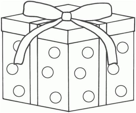 present coloring page gifts coloring pages gift coloring
