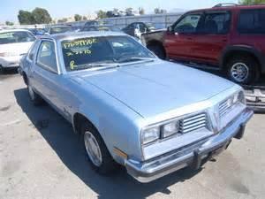 1980 Pontiac Sunbird For Sale Auto Auction Ended On Vin 2e27va7596506 1980 Pontiac