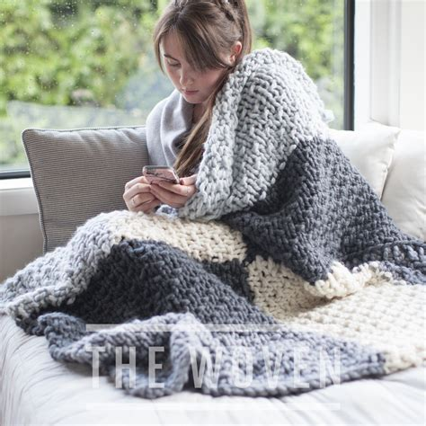 knitting pattern new zealand mega cabin blanket in chunky nz wool