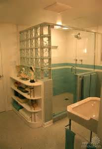 Nanette and jim s vintage blue bathroom built new from scratch