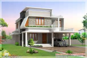 modern house design plan 3 beautiful modern home elevations kerala home design