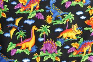 fabric dinosaur quilting cotton 1 yard giggles by hoffman