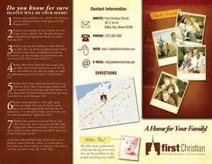 christian brochure templates free professional brochure design template for graphic