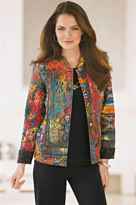 Patchwork Fashion - 234 best images about quilted jackets altered sweatshirt