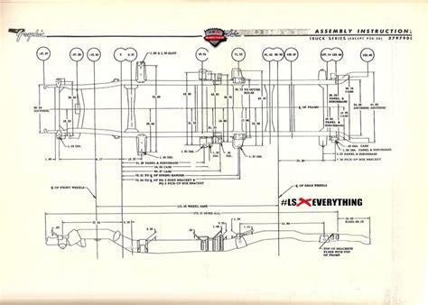 s10 bed size chevy s10 frame diagram 2wd ls parts auto parts catalog