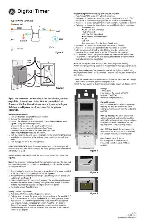 ge indoor digital timer wiring diagrams wiring diagrams