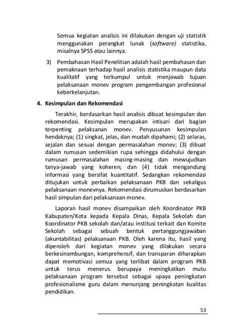 Supervisi Pnddkn Meningkatkan Kualitas Profesionalisme Guru buku pedoman pengembangan profesi guru