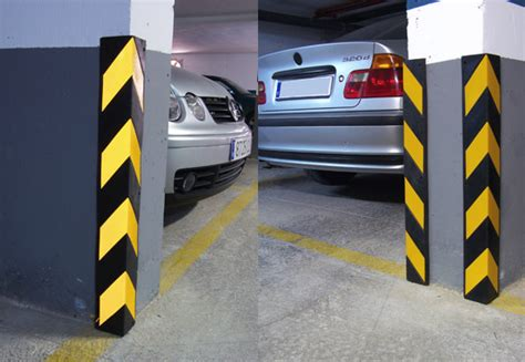 Parking Garage Protection by Corner Protectors