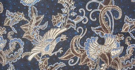 design batik flora fauna batik motif batik known as quot peksi gisik lorok quot which