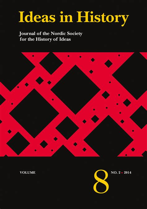 History Of Decorations by Ideas In History Journal Of The Nordic Society For The