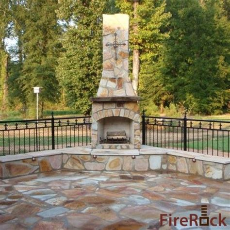 outdoor fireplace for the home