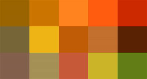 warm autumn color palette warm autumn color palette images