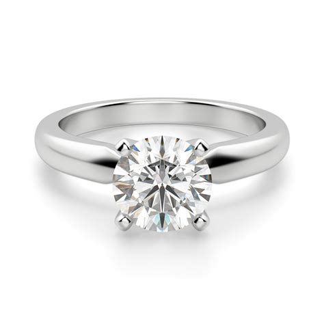 create engagement ring engagement rings solitare style solitaire