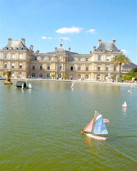 sailboats at luxembourg gardens sailboats at jardin du luxembourg pink bubbly
