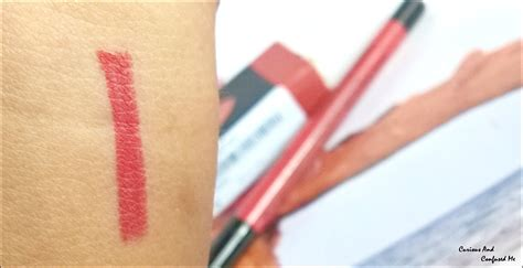 Lip Liner Pac pac auto lip liner ruby review swatch curious and confused me