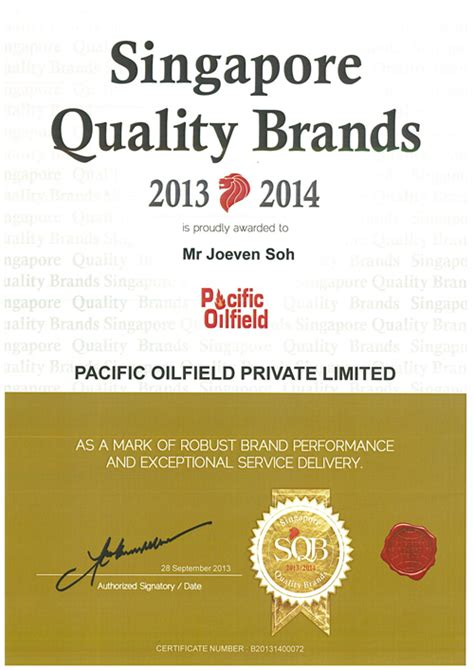 Quality Brands by Certificates Awards