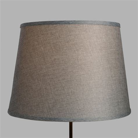world market l shades gray linen table l shade world market