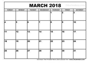 Algeria Calendã 2018 March 2018 Printable Calendar 2018 Calendar Printable