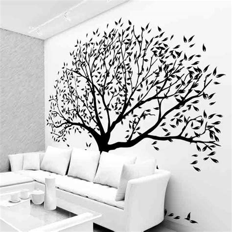 tree shop wall tree wall vinyl murals cutzz