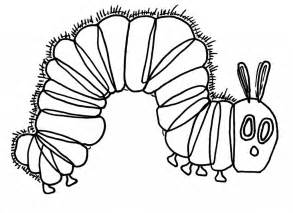 the hungry caterpillar template hungry caterpillar coloring pages to and