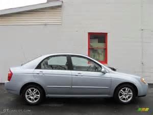 2004 Kia Spectra Clear Silver 2004 Kia Spectra Lx Sedan Exterior Photo