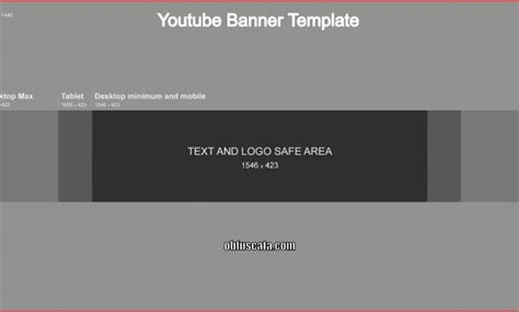 What Is A Youtube Banner Template Yt Channel Template