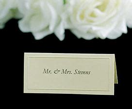 wilton ivory place cards template wedding templates
