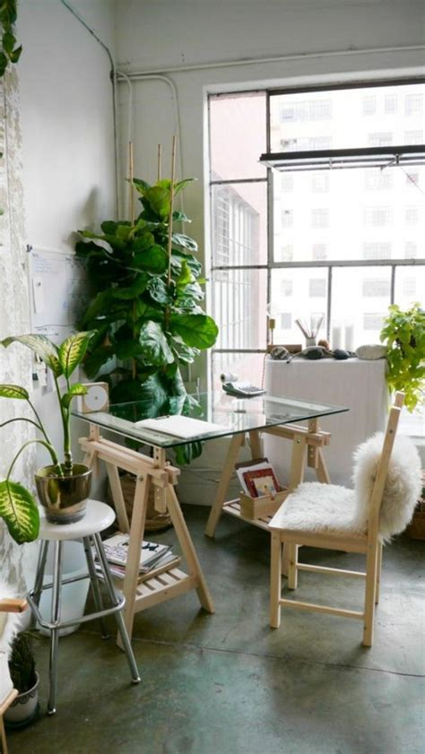 fresh beautiful indoor plant ideas for eco friendly 23201 glass desk the most beautiful accessory for your