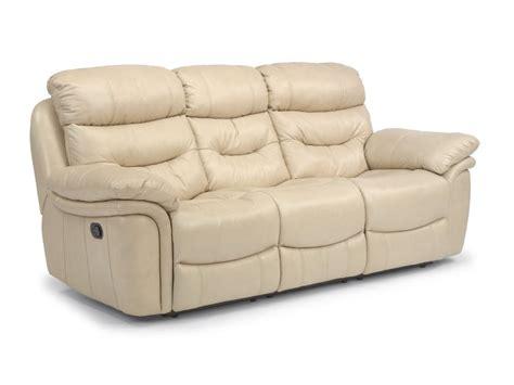 Flexsteel Living Room Leather Sectional Flexsteel Living Room Leather Reclining Sofa 1285 62