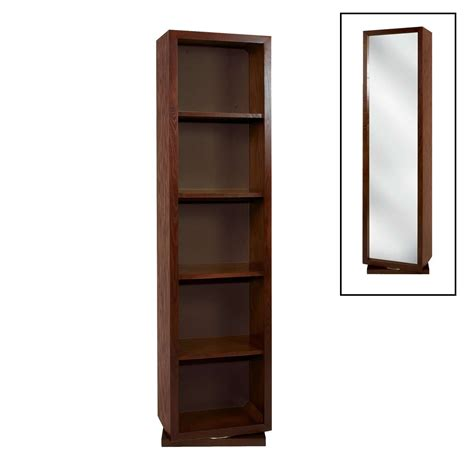 Bookcase With Mirror | swivel mirror bookcase thisnext swivel bookcase swivel