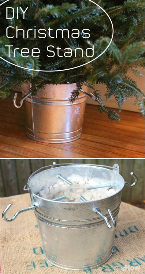 how to make your own christmas tree stand gardens trees