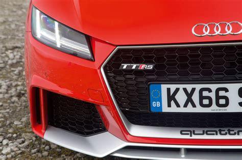 audi tt rs mpg audi tt rs review 2017 autocar
