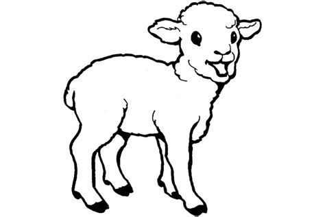 best photos of baby goat coloring pages printable baby