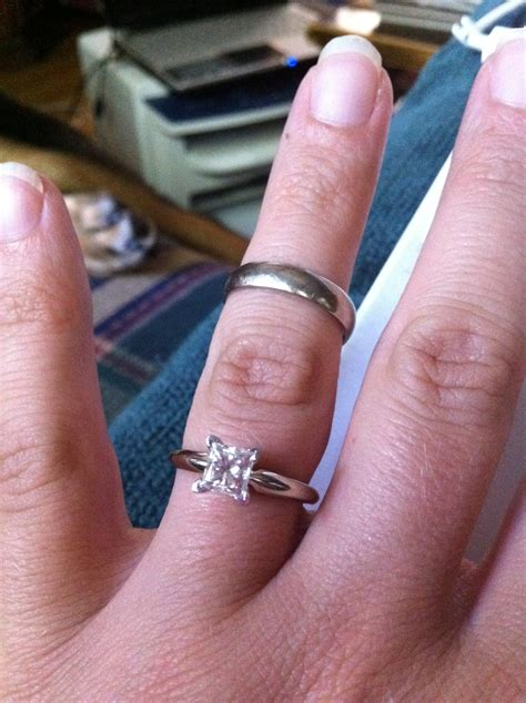 from a promise ring to a wedding band stylish for