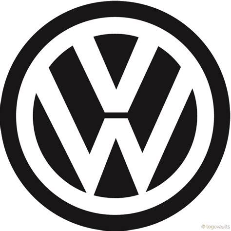 volkswagen logo vector volkswagen b w logo eps vector logo logovaults com