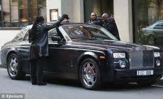 Rolls Royce Security 50 Cent Left Faced As Team Of Security Guards