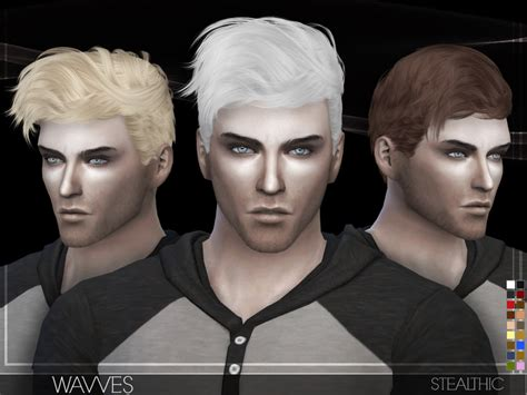 sims 4 male hairstyles stealthic wavves male hair