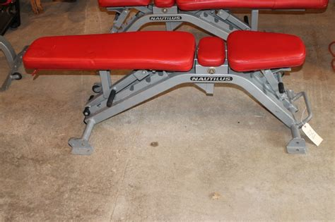 nautilus adjustable bench nautilus multi adjustable bench gym equipment