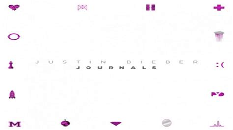 justin bieber journal rar justin bieber backpack journals youtube